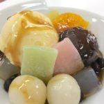 「和カフェのあんみつ」を使って、お店で売れる「クリーム白玉あんみつ」の作り方を教わってきた!